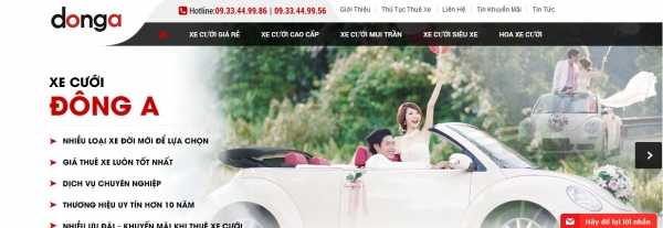 website-xe-cuoi-donga