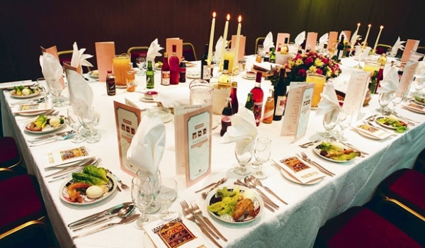 Table Set for Seder Israel